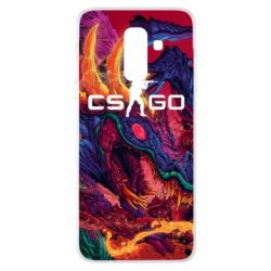 Чехол для Samsung A6+ 2018 Monster skin CS GO - FatLine