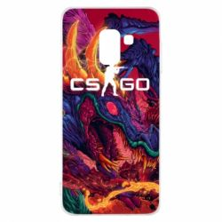 Чехол для Samsung A8 2018 Monster skin CS GO - FatLine