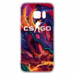 Чехол для Samsung S7 Monster skin CS GO - FatLine
