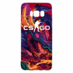 Чехол для Samsung S8 Monster skin CS GO - FatLine