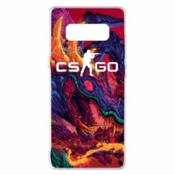 Чехол для Samsung Note 8 Monster skin CS GO - FatLine