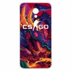 Чехол для Meizu M6s Monster skin CS GO - FatLine