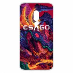 Чехол для Meizu 15 Monster skin CS GO - FatLine