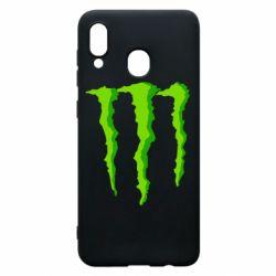 Чохол для Samsung A20 Monster Stripes