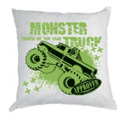 Подушка Monster truck of the year