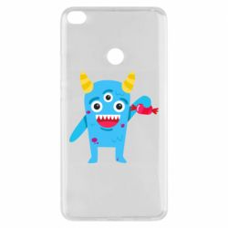Чехол для Xiaomi Mi Max 2 Monster with a candy