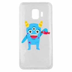 Чехол для Samsung J2 Core Monster with a candy