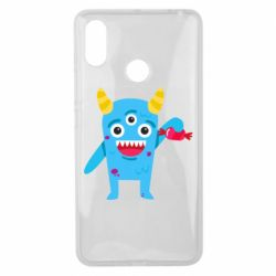 Чехол для Xiaomi Mi Max 3 Monster with a candy