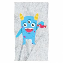 Полотенце Monster with a candy