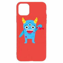 Чехол для iPhone 11 Pro Monster with a candy