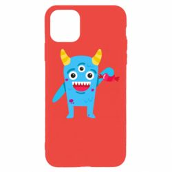Чехол для iPhone 11 Pro Max Monster with a candy