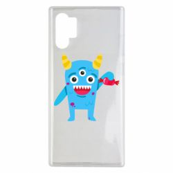 Чехол для Samsung Note 10 Plus Monster with a candy