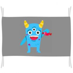 Флаг Monster with a candy