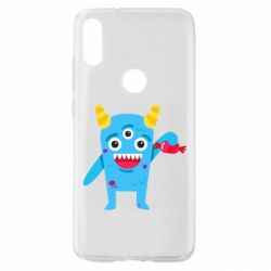 Чехол для Xiaomi Mi Play Monster with a candy