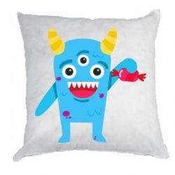 Подушка Monster with a candy
