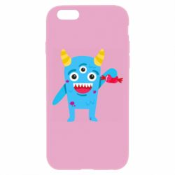 Чехол для iPhone 6 Plus/6S Plus Monster with a candy