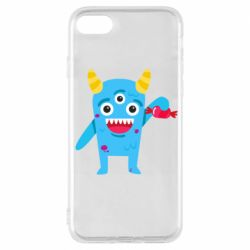 Чехол для iPhone 7 Monster with a candy
