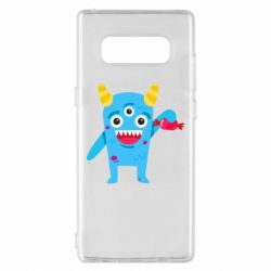 Чехол для Samsung Note 8 Monster with a candy