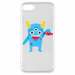 Чехол для iPhone 8 Monster with a candy