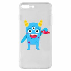 Чехол для iPhone 8 Plus Monster with a candy
