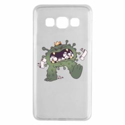Чохол для Samsung A3 2015 Monster with a crown and paper