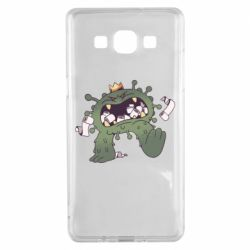 Чохол для Samsung A5 2015 Monster with a crown and paper