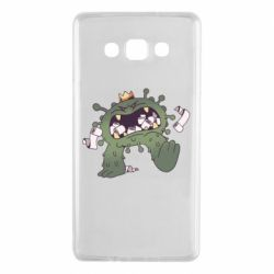 Чохол для Samsung A7 2015 Monster with a crown and paper