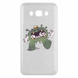 Чохол для Samsung J5 2016 Monster with a crown and paper