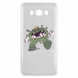 Чохол для Samsung J7 2016 Monster with a crown and paper