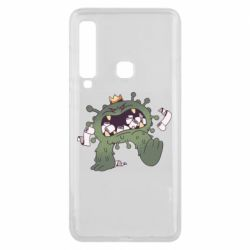 Чохол для Samsung A9 2018 Monster with a crown and paper