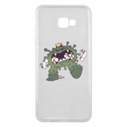 Чохол для Samsung J4 Plus 2018 Monster with a crown and paper