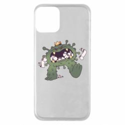 Чохол для iPhone 11 Monster with a crown and paper