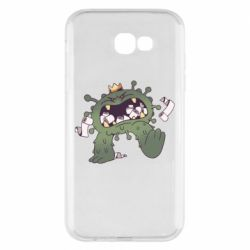 Чохол для Samsung A7 2017 Monster with a crown and paper