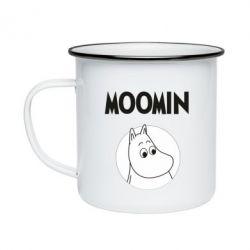 Кружка емальована Moomin