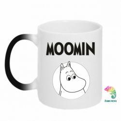 Кружка-хамелеон Moomin