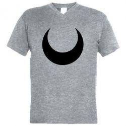 Чоловіча футболка з V-подібним вирізом Moon Sailor Moon