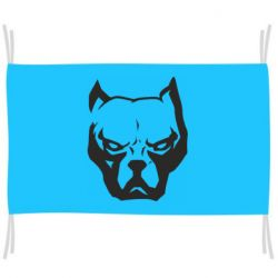 Прапор Морда пітбуля