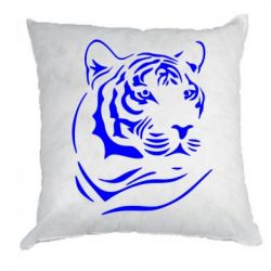 Подушка Морда тигра