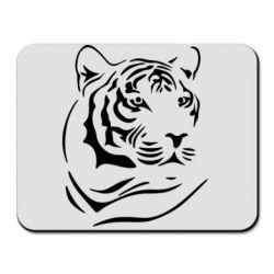 Коврик для мыши Морда тигра