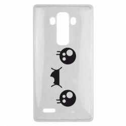 Чехол для LG G4 Мордашка Аниме - FatLine