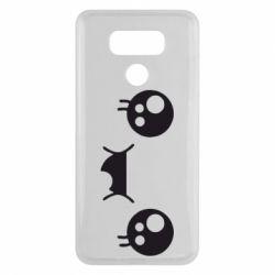 Чехол для LG G6 Мордашка Аниме - FatLine