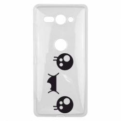 Чехол для Sony Xperia XZ2 Compact Мордашка Аниме - FatLine