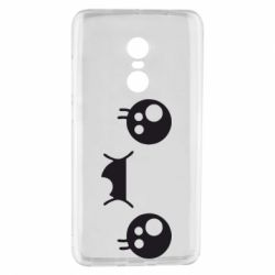 Чехол для Xiaomi Redmi Note 4 Мордашка Аниме - FatLine