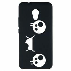 Чехол для Meizu M5s Мордашка Аниме - FatLine