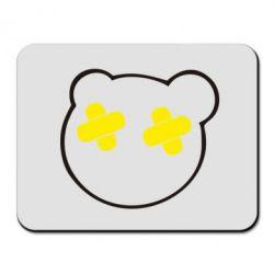 Коврик для мыши мордочка - FatLine