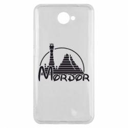 Чехол для Huawei Y7 2017 Mordor (Властелин Колец) - FatLine