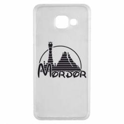 Чехол для Samsung A3 2016 Mordor (Властелин Колец) - FatLine