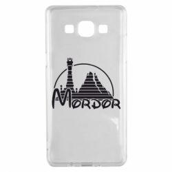 Чехол для Samsung A5 2015 Mordor (Властелин Колец) - FatLine