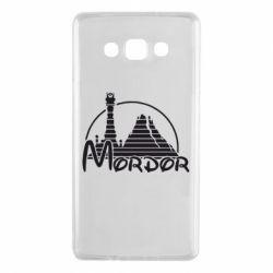 Чехол для Samsung A7 2015 Mordor (Властелин Колец) - FatLine