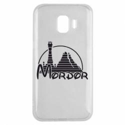 Чехол для Samsung J2 2018 Mordor (Властелин Колец) - FatLine